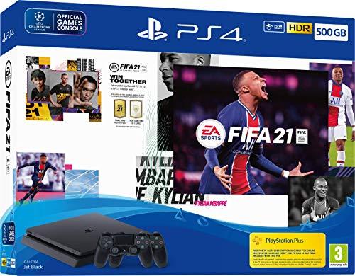 EA Sports Fifa 21 500GB PS4 Console + Second DualShock 4 Wireless Controller Bundle - PlayStation 4 [Edizione: Regno Unito]