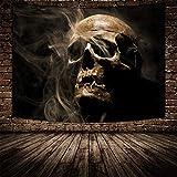 Tapiz De Poliéster De Impresión 3D, Tapiz De Tapiz De Impresión Digital De La Serie De Halloween, Tapiz De Decoración del Hogar De Halloween
