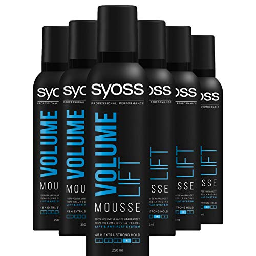 Syoss Volume Lift Haarmousse 250ml, 6 stuks
