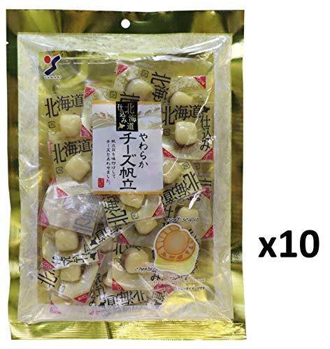 【まとめ買い】北海道仕込み やわらかチーズ帆立 120g x10袋