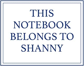 This Notebook Belongs to Shanny