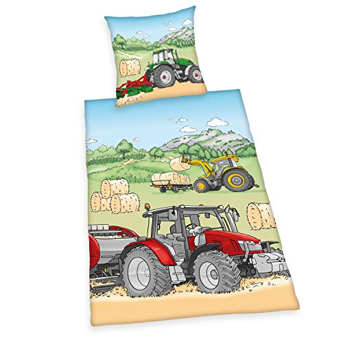 Herding Young Collection Bettwäsche-Set, Cotton, mehrfarbig, Deutsche Größe
