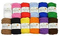 ハマナカ 毛糸セット ホームメイドアクリック 各40g 12玉セット
