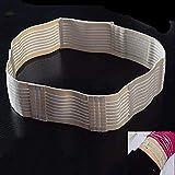 Cintura di protezione per dialisi addominale – Cintura per addominali – Cintura fissa per dialisi pielina – Forniture per dialisi peritoneale – Elastico regolabile – 2 pezzi