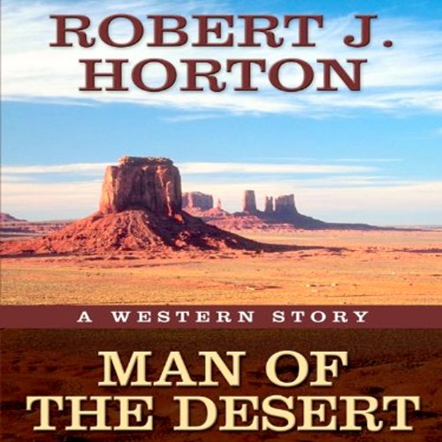 Man of the Desert audiobook cover art