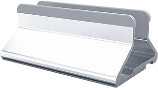 Soportes Laptop Vertical Oficina de Escritorio aleación de Aluminio Ajustable manualmente portátil Anchura (Color : Silve...