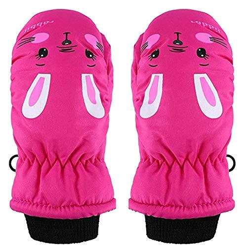 Writtian Skihandschuhe Kinder Warme Handschuhe, Thermische Ski Snowboard Handschuhe, wasserdichte Und Winddicht Warme Schneehandschuhe Winddich Winterhandschuhe für Junge Mädchen