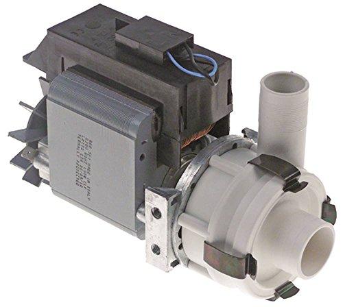 GRE Pumpe für Spülmaschine Krupps Koral-600, Koral-800, Koral-500, Comenda FC, FCHRA, FCHRTA, FCHR, FCHRT 190W 230V 50Hz 24mm