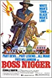 (27x40) Boss Nigger Fred Williamson Movie Poster