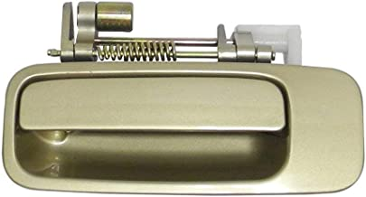 Eynpire 8074 Exterior Outside Outer Rear Left Driver Side Beige/Gold Door Handle For 1997 1998 1999 2000 2001 Toyota Camry