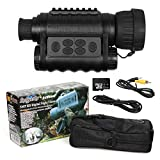 Bestguarder WG-50 6x50mm Digital Night Vision Infrared IR Monocular with 32G...