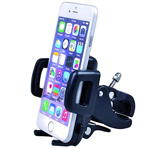 Maclean MC-684 mobiltelefon smartphone universal cykelhållare 360° cykel styre hållare hållare