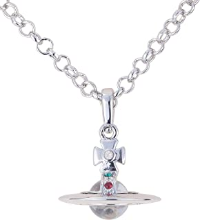 Vivienne Westwood Transparent glass ball necklace with special packing box and paper bag