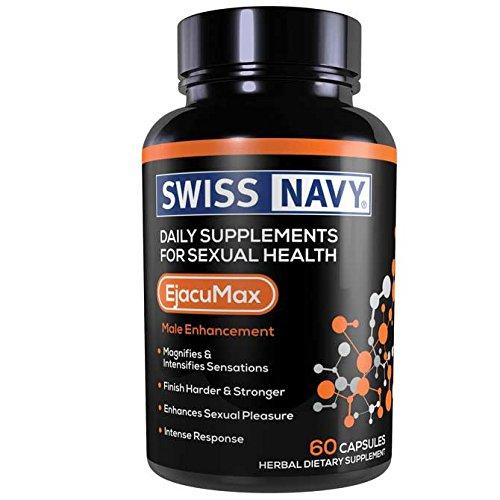 Swiss Navy Ejacumax Male Enhancement, 60 Count