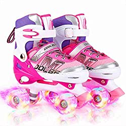 Adjustable Roller Skates for Girls