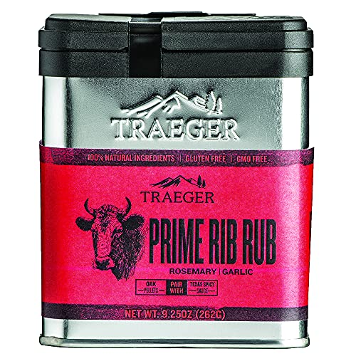 Traeger Grills SPC173 Prime Rib Rub with Rosemary and Garlic