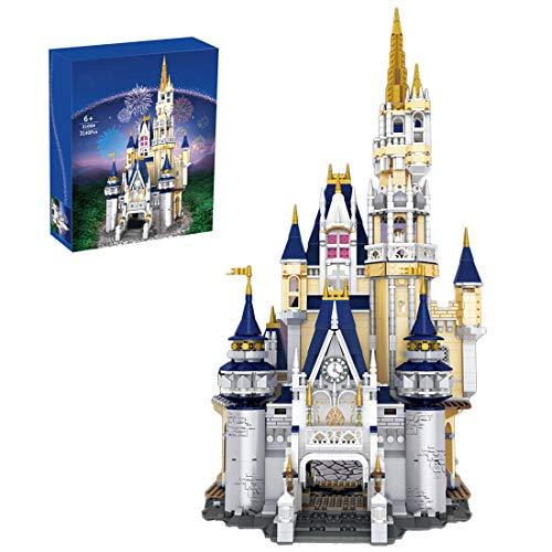 YOU339 Modelo de bloques de construcción de castillos, parque de juegos Fantasy modelo de castillo Moc para niñas, juguete educativo para Lego (3140 unidades)
