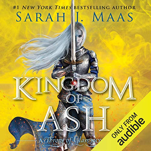 Kingdom of Ash                   By:                                                                                                                                 Sarah J. Maas                               Narrated by:                                                                                                                                 Elizabeth Evans                      Length: 33 hrs and 11 mins     457 ratings     Overall 4.7