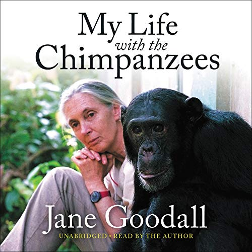 My Life with the Chimpanzees cover art