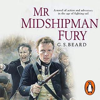 Mr Midshipman Fury audiobook cover art