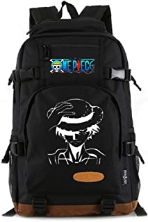 YOYOSHome Luminous Anime One Piece Cosplay Bookbag Daypack Laptop Bag Backpack School Bag