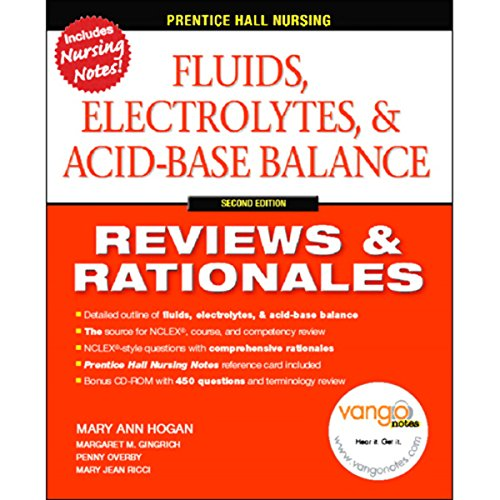 VangoNotes for Fluids, Electrolytes & Acid-Base Balance audiobook cover art