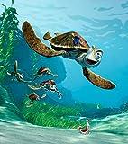 1art1 Findet Nemo - Nemo, Dorie Und Crush Fototapete