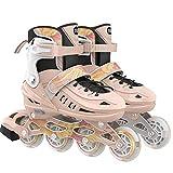 Erwachsene Fitness Inline Skate Kids Rollerklingen Einstellbare Leistung Damen Inline-Skates, mehrere Größen