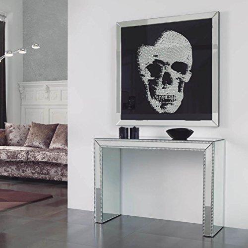 Dugar Home SCHULLER - Cuadros Decorativos - Espejo Skull Grande