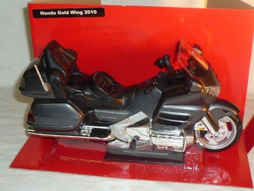 New Ray Hon-da Gold Wing Goldwing 2010 Grau Schwarz Gl1800 Gl 1800 1/12 Motorradmodelle Motorrad Modell