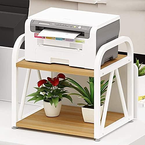 LangCher Estante para Soporte de Impresora con Almacenamiento Soporte de Escritorio Multiusos de Doble Capa Estante de Almacenamiento de Oficina para Mini impresoras 3D (Color : C)