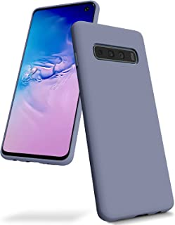 Goospery Liquid Silicone Case for Samsung Galaxy S10 (2019) 6.1 inch Jelly Rubber Bumper Case with Soft Microfiber Lining...