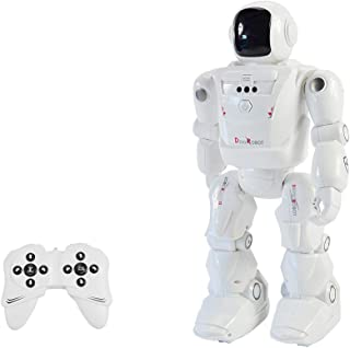 Mobiliarbus Smart Dancing Mode Robot RC Leading RC2108 Motion Control Programmable Actions Facial Light Sounds RC Toy for Kids Boys and Girls