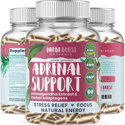 Adrenal Support Supplements & Cortisol Manager [1300mg]...