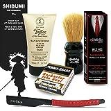 The Goodfellas 'Smile Traditional Shaving Kit. Straight Razo