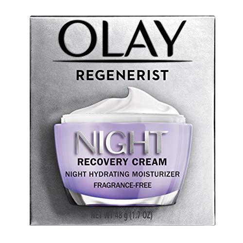 Night Cream by Olay Regenerist Night Recovery Anti-Aging Face Moisturizer 1.7 oz, 2 Month Supply