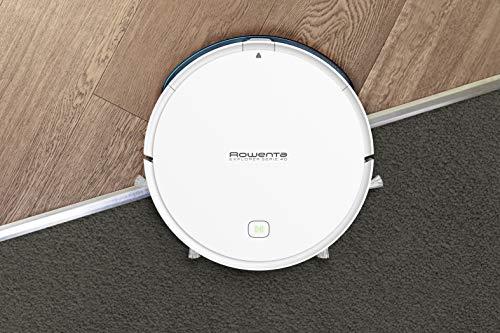 Rowenta Aspirateur Robot X-Plorer Serie 40 Laveur Autonomie 2h30 Sols durs Poils d'animaux Wifi Compatible Smartphone Alexa Google Assistant RR7267WH