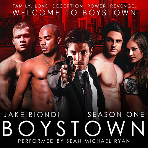 Boystown: Season One audiobook cover art