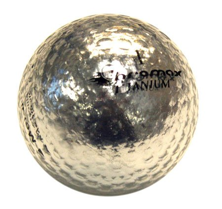 ProActive Sports Golf Chromax M1 Golf Ball Silver Shiny New