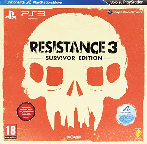 PS3 RESISTANCE 3 SURVIVOR ED.