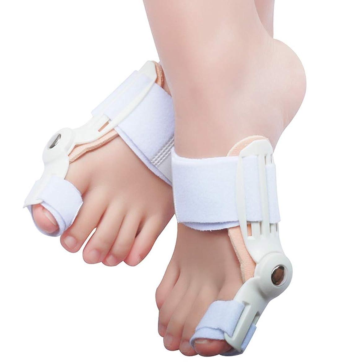 平日バイオリニストお風呂外反母ortho装具の大人の昼と夜の大きな足の骨セパレーターのつま先の親指の矯正装置