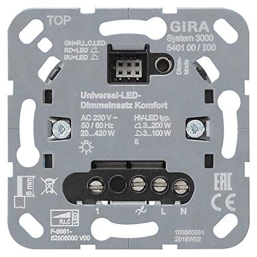 Gira Uni-LED-Dimmeinsatz 540100