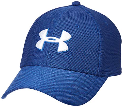 Under Armour UA Mens Heathered Blitzing 3.0 Gorra, Hombre, (American Blue/Versa Blue/White (449), M