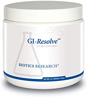 Biotics Research GI Resolve Optimal Gastrointestinal Support. Great-tasting powder, free of added flavors, colors, sweeten...
