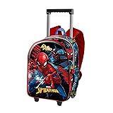 Karactermania Spiderman Smash Mochila Infantil, 38 cm, Azul