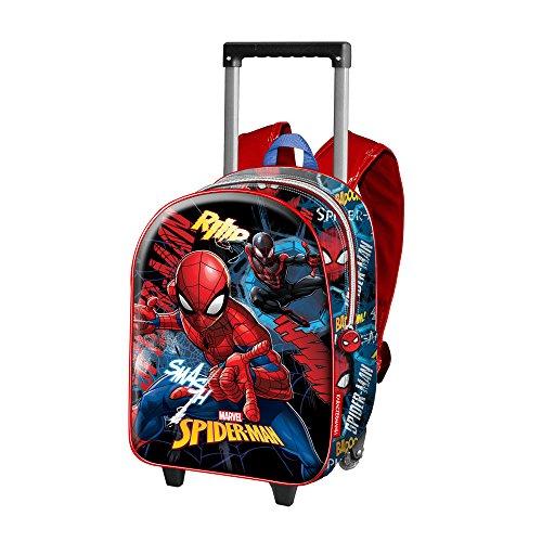 La mejor mochila con ruedas de spiderman: Karactermania Spiderman Smash Mochila
