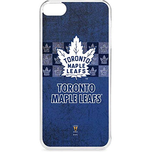 Skinit LeNu MP3 Player Case for iPod Touch 6th Gen - Officially Licensed NHL Toronto Maple Leafs Vintage Design
