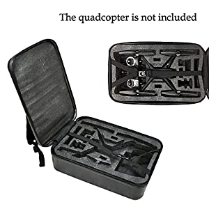 elegantstunning For Hu-bsan H501S RC Drone Portable Carry Case Backpack Hard Shell Storage Box High-End Remote Control Storage Bag