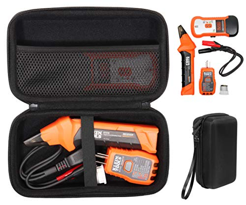 getgear Circuit Breaker Finder/Tester case for Klein Tools ET310 AC Circuit Breaker Finder, RT310, Accessory Kit storage case, also good for other device and meters