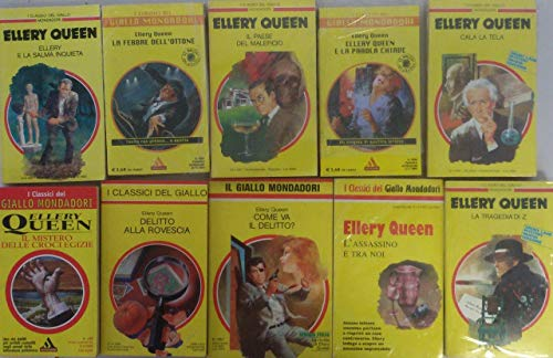 Elley Queen collezione 10 volumi come da foto